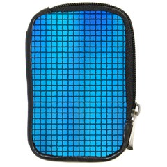 Seamless Blue Tiles Pattern Compact Camera Cases