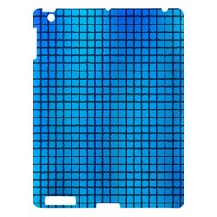 Seamless Blue Tiles Pattern Apple Ipad 3/4 Hardshell Case