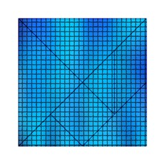Seamless Blue Tiles Pattern Acrylic Tangram Puzzle (6  X 6 )