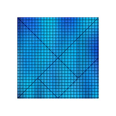 Seamless Blue Tiles Pattern Acrylic Tangram Puzzle (4  X 4 )