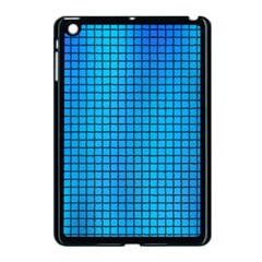 Seamless Blue Tiles Pattern Apple Ipad Mini Case (black)