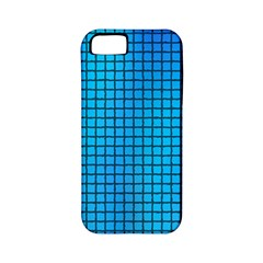 Seamless Blue Tiles Pattern Apple Iphone 5 Classic Hardshell Case (pc+silicone)