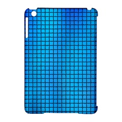 Seamless Blue Tiles Pattern Apple Ipad Mini Hardshell Case (compatible With Smart Cover)