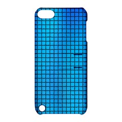 Seamless Blue Tiles Pattern Apple Ipod Touch 5 Hardshell Case With Stand