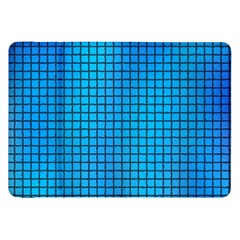 Seamless Blue Tiles Pattern Samsung Galaxy Tab 8 9  P7300 Flip Case