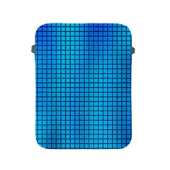 Seamless Blue Tiles Pattern Apple Ipad 2/3/4 Protective Soft Cases