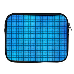 Seamless Blue Tiles Pattern Apple Ipad 2/3/4 Zipper Cases