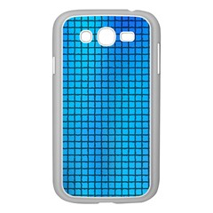 Seamless Blue Tiles Pattern Samsung Galaxy Grand Duos I9082 Case (white)