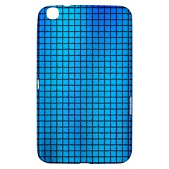 Seamless Blue Tiles Pattern Samsung Galaxy Tab 3 (8 ) T3100 Hardshell Case