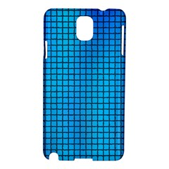 Seamless Blue Tiles Pattern Samsung Galaxy Note 3 N9005 Hardshell Case