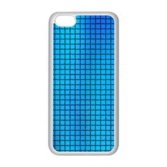 Seamless Blue Tiles Pattern Apple Iphone 5c Seamless Case (white)