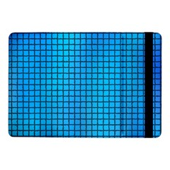 Seamless Blue Tiles Pattern Samsung Galaxy Tab Pro 10 1  Flip Case