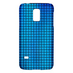 Seamless Blue Tiles Pattern Galaxy S5 Mini