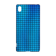 Seamless Blue Tiles Pattern Sony Xperia Z3+
