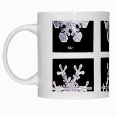 Snowflakes Exemplifies Emergence In A Physical System White Mugs