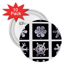 Snowflakes Exemplifies Emergence In A Physical System 2.25  Buttons (10 pack)