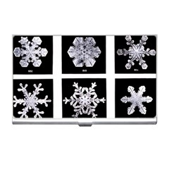 Snowflakes Exemplifies Emergence In A Physical System Business Card Holders