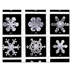 Snowflakes Exemplifies Emergence In A Physical System Rectangular Jigsaw Puzzl