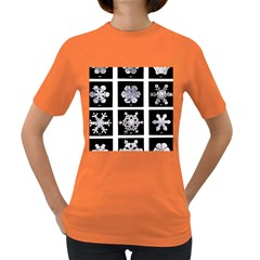 Snowflakes Exemplifies Emergence In A Physical System Women s Dark T Shirt