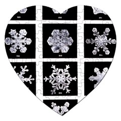 Snowflakes Exemplifies Emergence In A Physical System Jigsaw Puzzle (heart)
