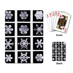 Snowflakes Exemplifies Emergence In A Physical System Playing Card