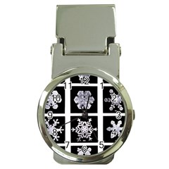 Snowflakes Exemplifies Emergence In A Physical System Money Clip Watches