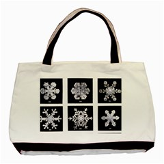 Snowflakes Exemplifies Emergence In A Physical System Basic Tote Bag