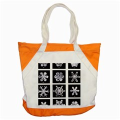 Snowflakes Exemplifies Emergence In A Physical System Accent Tote Bag