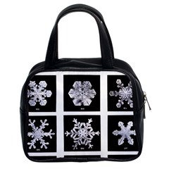 Snowflakes Exemplifies Emergence In A Physical System Classic Handbags (2 Sides)