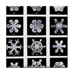 Snowflakes Exemplifies Emergence In A Physical System Face Towel
