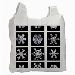Snowflakes Exemplifies Emergence In A Physical System Recycle Bag (one Side)