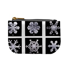 Snowflakes Exemplifies Emergence In A Physical System Mini Coin Purses