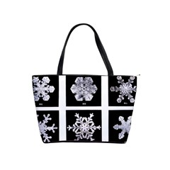 Snowflakes Exemplifies Emergence In A Physical System Shoulder Handbags