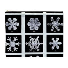Snowflakes Exemplifies Emergence In A Physical System Cosmetic Bag (xl)