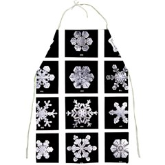 Snowflakes Exemplifies Emergence In A Physical System Full Print Aprons