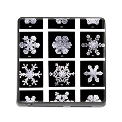 Snowflakes Exemplifies Emergence In A Physical System Memory Card Reader (square)
