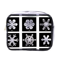Snowflakes Exemplifies Emergence In A Physical System Mini Toiletries Bags