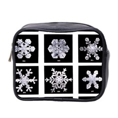 Snowflakes Exemplifies Emergence In A Physical System Mini Toiletries Bag 2 Side