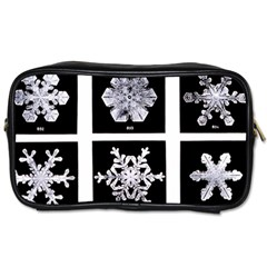 Snowflakes Exemplifies Emergence In A Physical System Toiletries Bags