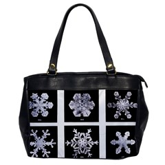 Snowflakes Exemplifies Emergence In A Physical System Office Handbags