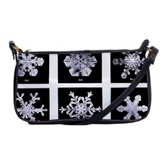Snowflakes Exemplifies Emergence In A Physical System Shoulder Clutch Bags