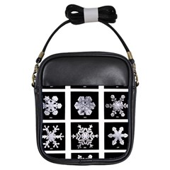 Snowflakes Exemplifies Emergence In A Physical System Girls Sling Bags