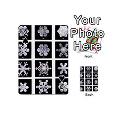 Snowflakes Exemplifies Emergence In A Physical System Playing Cards 54 (mini)