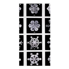 Snowflakes Exemplifies Emergence In A Physical System Shower Curtain 36  X 72  (stall)