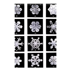 Snowflakes Exemplifies Emergence In A Physical System Shower Curtain 48  X 72  (small)