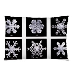 Snowflakes Exemplifies Emergence In A Physical System Pillow Case (two Sides)