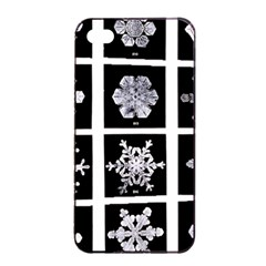 Snowflakes Exemplifies Emergence In A Physical System Apple Iphone 4/4s Seamless Case (black)