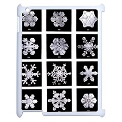 Snowflakes Exemplifies Emergence In A Physical System Apple Ipad 2 Case (white)