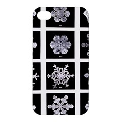 Snowflakes Exemplifies Emergence In A Physical System Apple Iphone 4/4s Hardshell Case