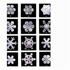 Snowflakes Exemplifies Emergence In A Physical System Small Garden Flag (two Sides)